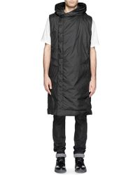 DRKSHDW by Rick Owens Oversized Nylon Sleeveless Coat - Lyst