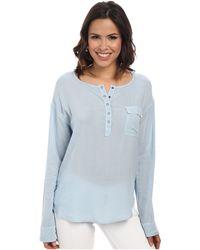 Splendid Rayon Voile Shirt - Lyst