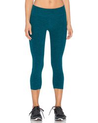 Beyond Yoga | Space Dye Capri Legging | Lyst
