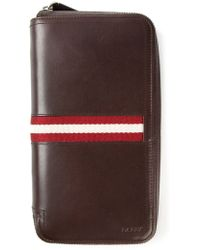 Bally Zip Wallet - Lyst
