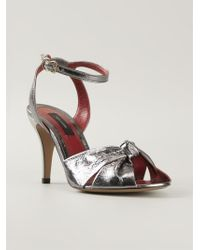 Marc Jacobs Knot Detail Sandals - Lyst