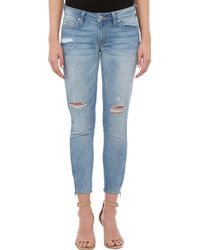 Genetic Denim - The James Crop Zip Ankle Jeans - Lyst