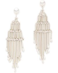 Adia Kibur - Eli Tiered Earrings - Lyst