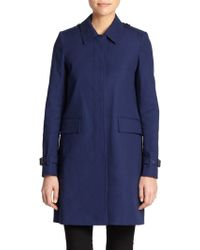 Burberry Brit Stonebury A-Line Raincoat - Lyst