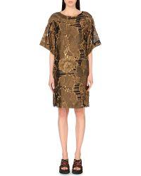 Dries Van Noten Dominic Jacquard Summer Dress - For Women - Lyst