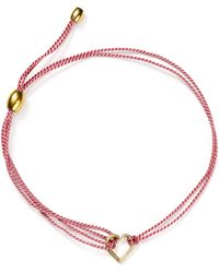 ALEX AND ANI - Kindred Cord (red) Heart Bracelet, Charity By Design Collection - Lyst