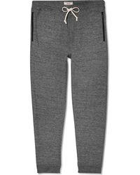 J.Crew Wallace  Barnes Mãlange Cotton-jersey Sweatpants - Lyst