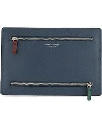 Globe-Trotter Jet Collection Currency Wallet - Blue