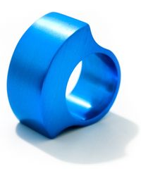 Filip Vanas - Tectonics Gamma Ring Turquoise - Lyst