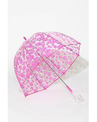 Betsey Johnson Bubble Umbrella - Pink