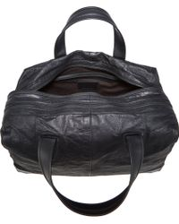 Alexander Wang Black Wallie Duffel - Lyst