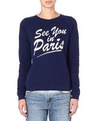 Zoe Karssen See You in Paris Sweatshirt - Lyst