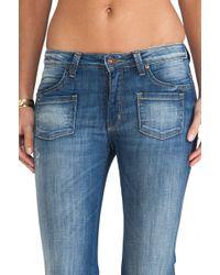 Frankie B. Jeans - Carly Hi Rise Wide Leg - Lyst