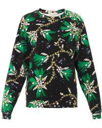 Mary Katrantzou Rouch Diaz Sequinprint Sweatshirt - Lyst