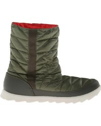 The North Face Green Thermoball Bootie - Lyst
