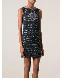 Versace Medusa Print Dress - Lyst