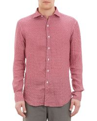 Petronius - Tileprint Shirt - Lyst