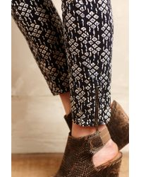 Pilcro - Serif Sateen Skinny Jeans - Lyst