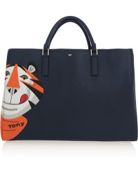 Anya Hindmarch Ebury Maxi Frosties Leather Tote - Lyst