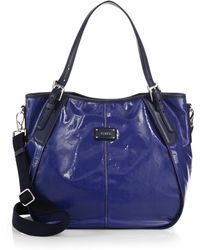 Tod's G-Line New Coated-Canvas Sacca Piccola Tote - Lyst