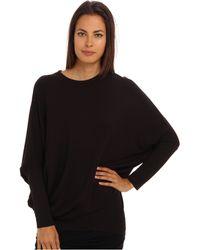 Helmut Lang Round Shape Sweatshirt - Lyst