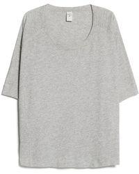 Mango Soft Sport Tshirt - Lyst