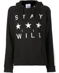 Zoe Karssen Stay Wild Sweatshirt - Lyst