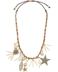 J.Crew Firework Charm Necklace - Lyst