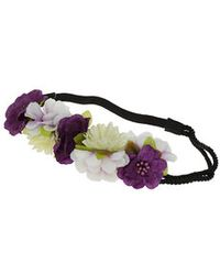 Topshop Flower Rope Hair Garland - Lyst