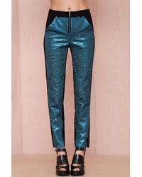 Nasty Gal Three Floor Trãs You Sequin Pant - Lyst
