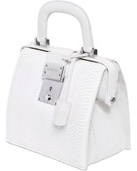 DSquared² Mini Doctor Ayers Top Handle Bag - White