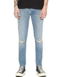 Ksubi Van Winkle Skinny Jeans blue - Lyst