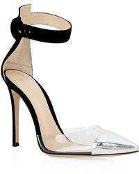 Gianvito Rossi Apulia Ankle Strap Sandal - Lyst