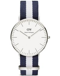 Daniel Wellington Classic Glasgow Watch, 36Mm silver - Lyst