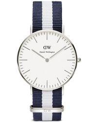 Daniel Wellington Classic Glasgow Watch, 36Mm silver - Lyst