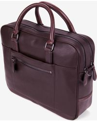 Ted Baker Leather Document Bag - Lyst