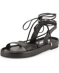 Diane von Furstenberg Susie Leather Gladiator Sandal - Lyst