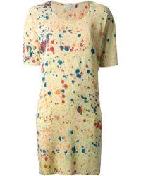 Katrien Van Hecke 'bixa Gusset' Jersey Dress - Multicolor