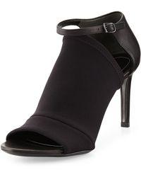 Balenciaga Neoprene Midheel Glove Sandal - Lyst