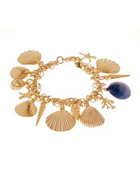 Rosantica By Michela Panero - Abissi Seashell-charm Bracelet - Lyst