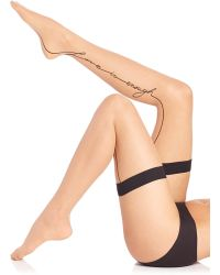 Wolford | Love Stay-up Thigh Highs | Lyst