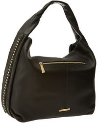 Vince Camuto Black Chain Hobo - Lyst