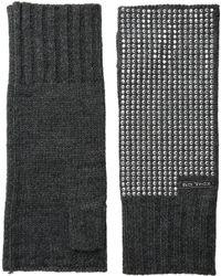 MICHAEL Michael Kors - Heat Seal Studded Armwarmer - Lyst