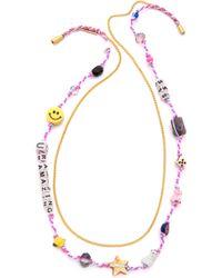 Venessa Arizaga - You'Re Amazing Necklace - Multi - Lyst