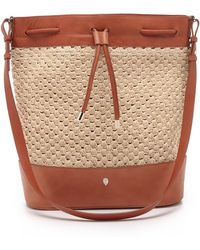 Helen Kaminski - Deedee Bucket Bag - Natural - Lyst