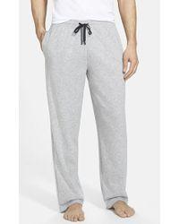 Calvin Klein Cotton Blend Lounge Pants - Lyst