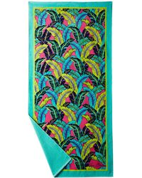 Vera Bradley Beach Towel green - Lyst