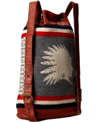 Pendleton - Heroic Chief Leather Backpack - Lyst