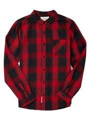 Native Youth Logger Check Shirt - Lyst