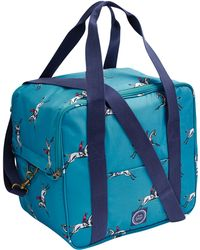 Joules Horse Family Coolbag - Blue